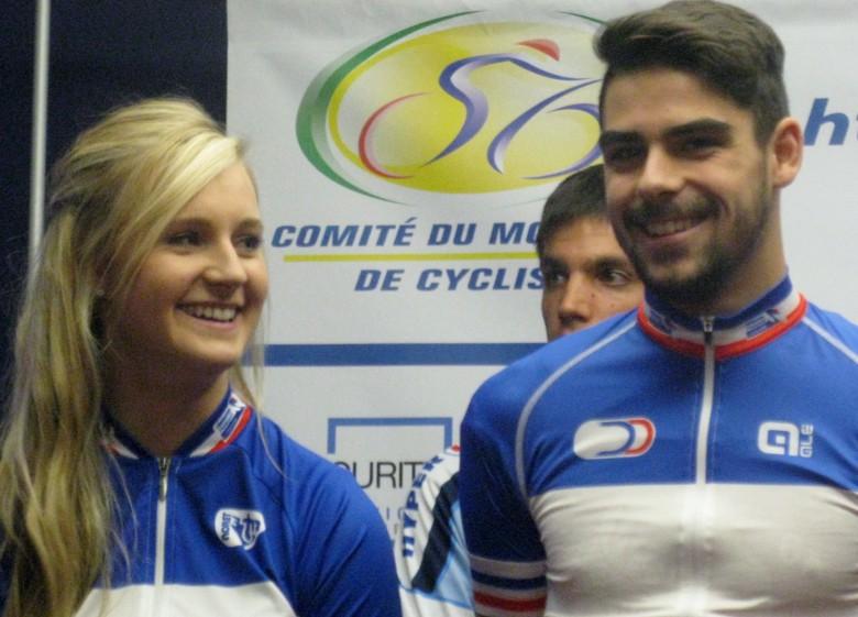 Typhaine LAURANCE et Thomas DENIS élus Cyclistes Morbihannais de L'année 2015